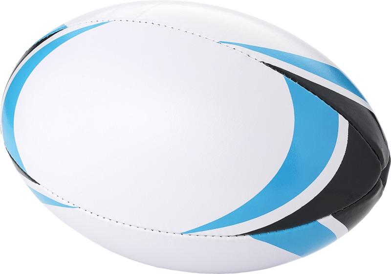 Balón rugby . Regalos promocionales y reclamos publicitarios