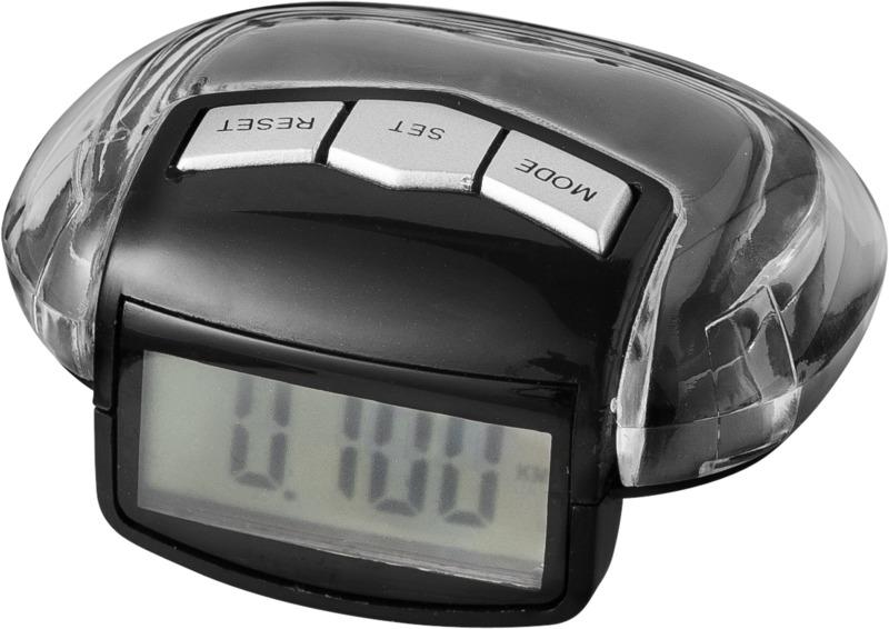 Podómetro. Regalos promocionales y reclamos publicitarios