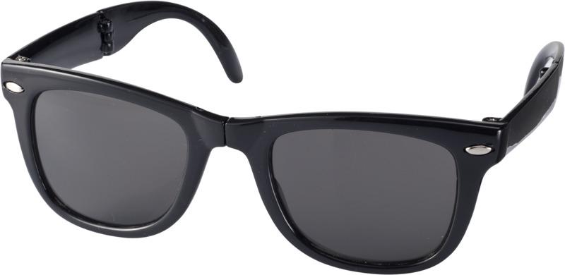 Gafas sol plegables . Regalos promocionales y reclamos publicitarios