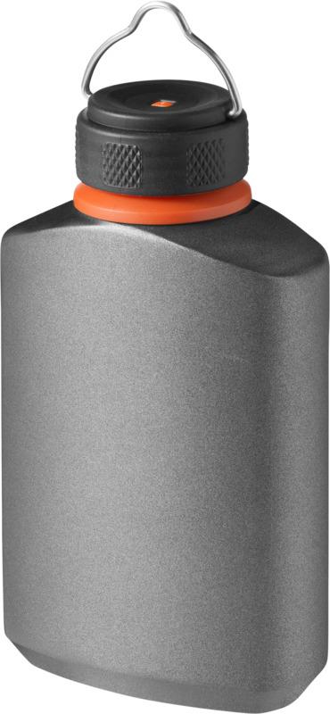 Petaca antifugas . Regalos promocionales y reclamos publicitarios