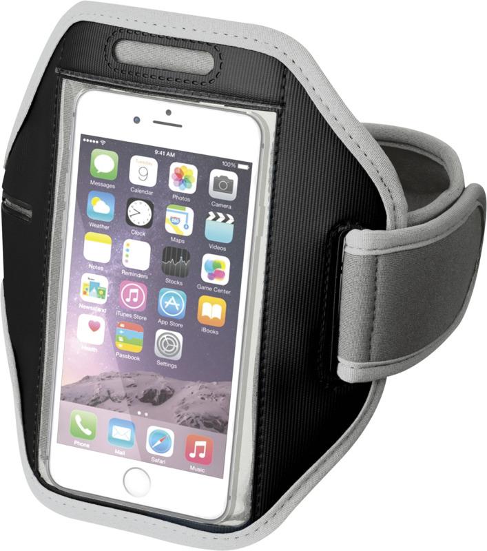 Brazalete pantalla táctil smartphone . Regalos promocionales y reclamos publicitarios
