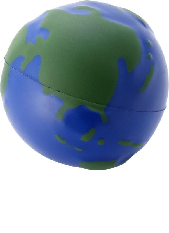 Antiestrés globo terráqueo. Regalos promocionales y reclamos publicitarios