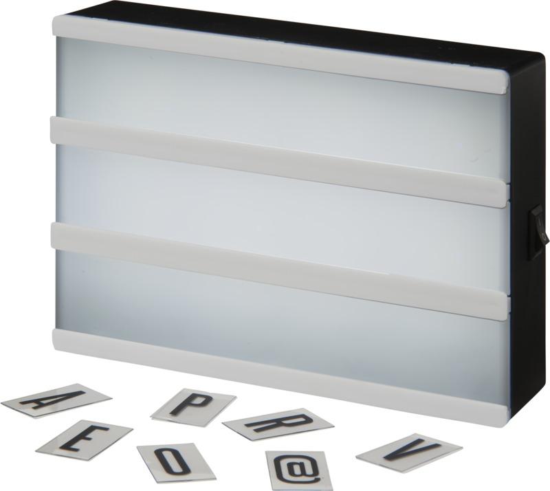 Caja luz. Regalos promocionales y reclamos publicitarios