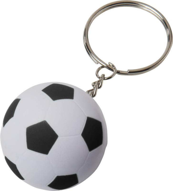 Llavero/ balón fútbol . Regalos promocionales y reclamos publicitarios