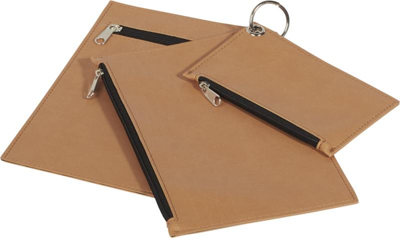 3 bolsos mano en llavero. Regalos promocionales y reclamos publicitarios