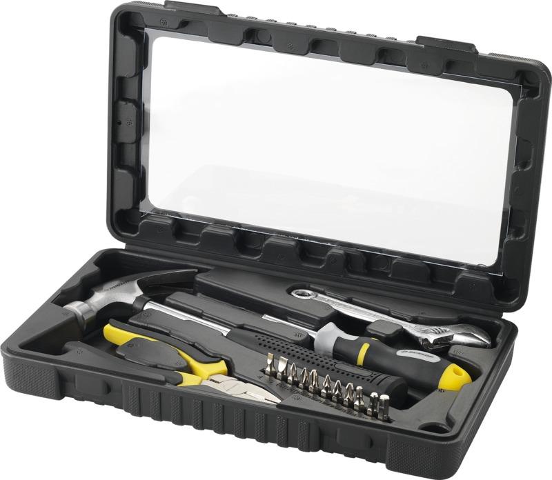 Set herramientas 15 piezas. Regalos promocionales y reclamos publicitarios