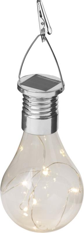 Luz LED solar . Regalos promocionales y reclamos publicitarios