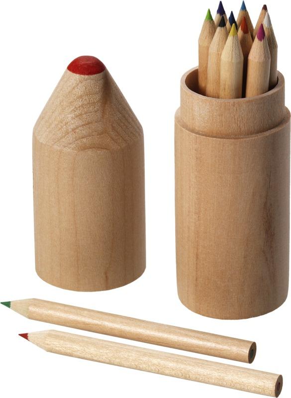 Set 12 lápices. Regalos promocionales y reclamos publicitarios
