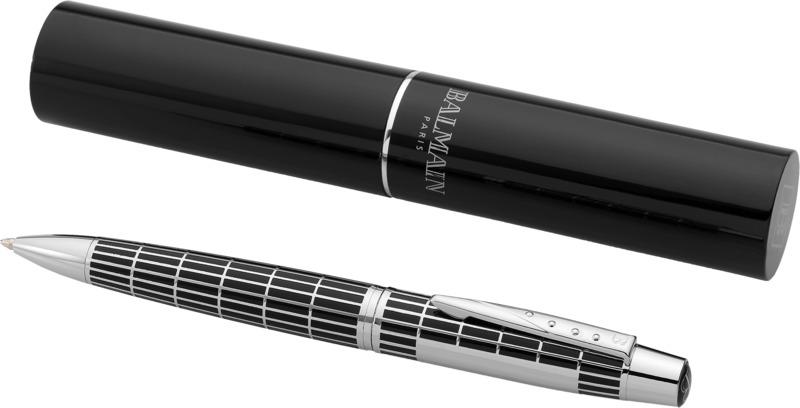 Bolígrafo translúcido sujeción color . Regalos promocionales y reclamos publicitarios