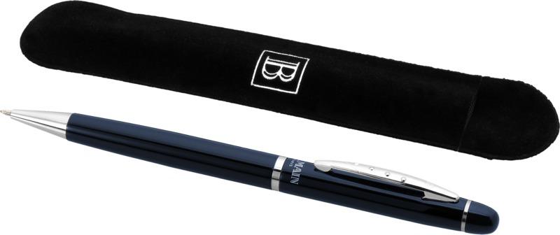Bolígrafo. Regalos promocionales y reclamos publicitarios