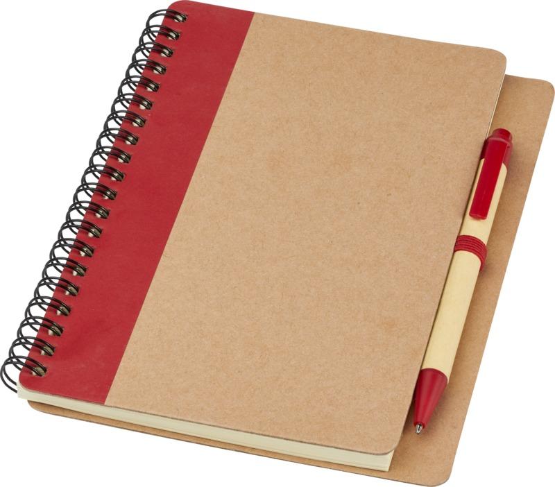 Libreta bolígrafo. Regalos promocionales y reclamos publicitarios