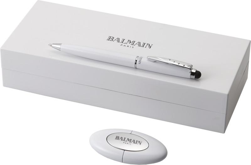 Set bolígrafo puntero/ USB. Regalos promocionales y reclamos publicitarios