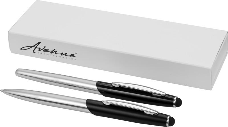 Set bolígrafo-puntero/ rollerball . Regalos promocionales y reclamos publicitarios