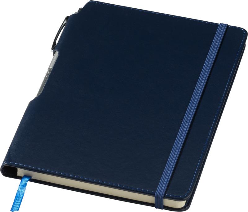 Libreta/ bolígrafo . Regalos promocionales y reclamos publicitarios