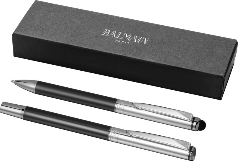 Set bolígrafo/ bolígrafo puntero. Regalos promocionales y reclamos publicitarios