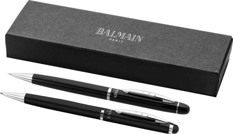 Set bolígrafos puntero. Regalos promocionales y reclamos publicitarios