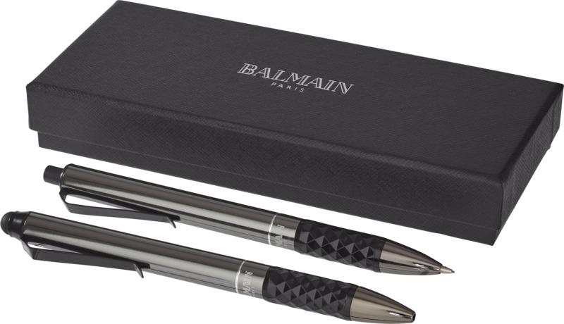 Set bolígrafo/ bolígrafo puntero/ portaminas . Regalos promocionales y reclamos publicitarios