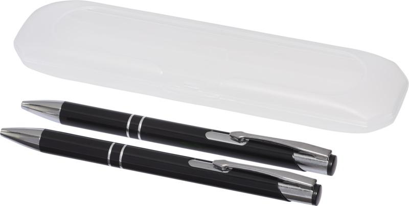 Set bolígrafo/ portaminas. Regalos promocionales y reclamos publicitarios