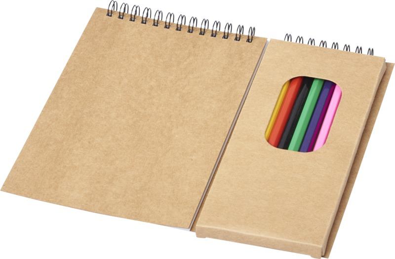 Set colorear. Regalos promocionales y reclamos publicitarios