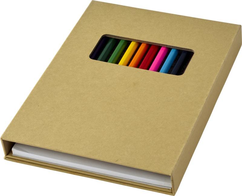 Set colorear . Regalos promocionales y reclamos publicitarios