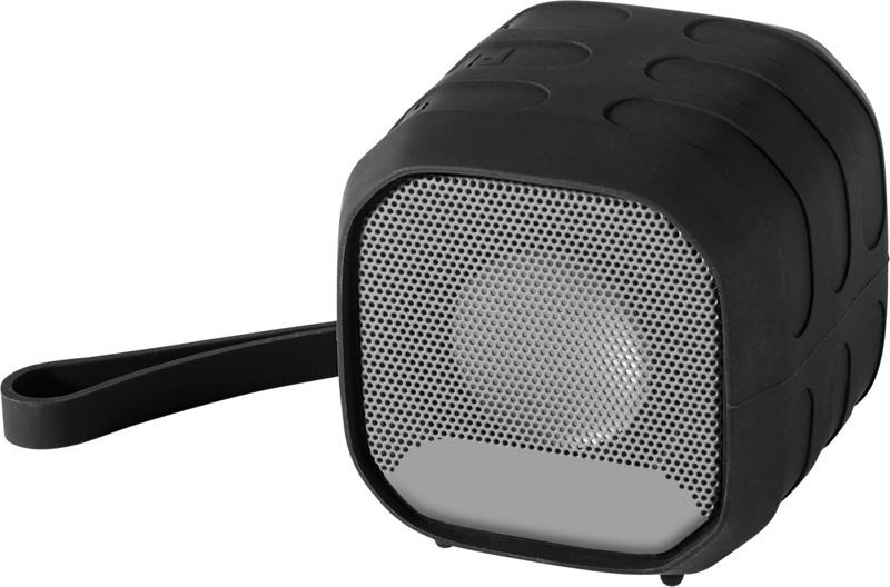 Altavoz portátil tela Bluetooth. Regalos promocionales y reclamos publicitarios