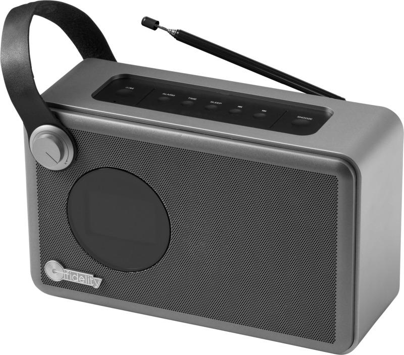 Radio despertador . Regalos promocionales y reclamos publicitarios