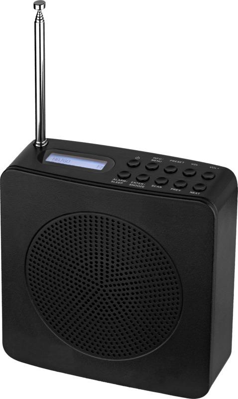 Radiospertador . Regalos promocionales y reclamos publicitarios