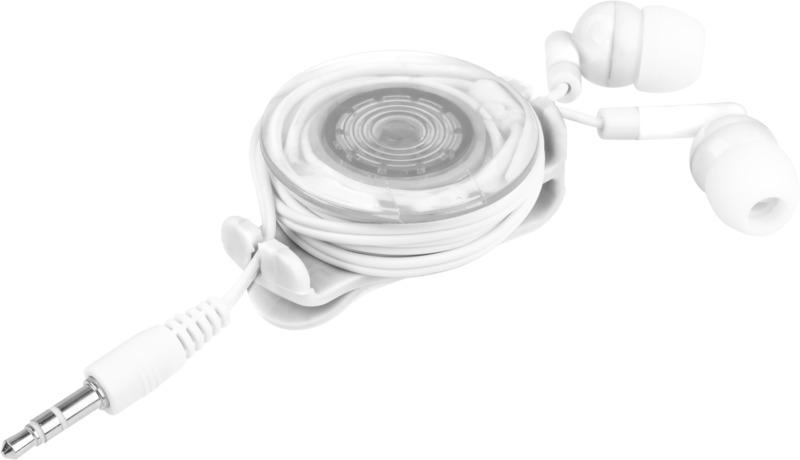 Auriculares intraurales. Regalos promocionales y reclamos publicitarios