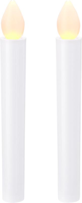 Set 2 velas LED. Regalos promocionales y reclamos publicitarios