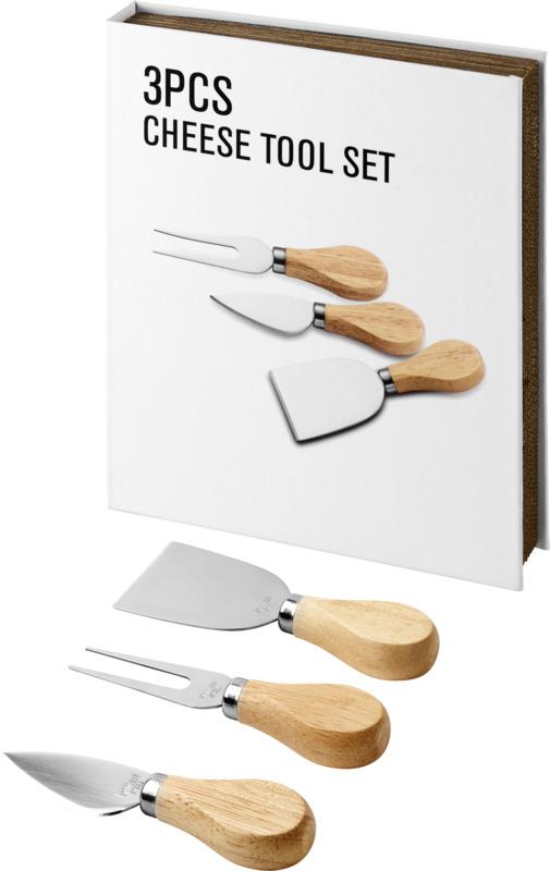 Set regalo queso 3 piezas. Regalos promocionales y reclamos publicitarios