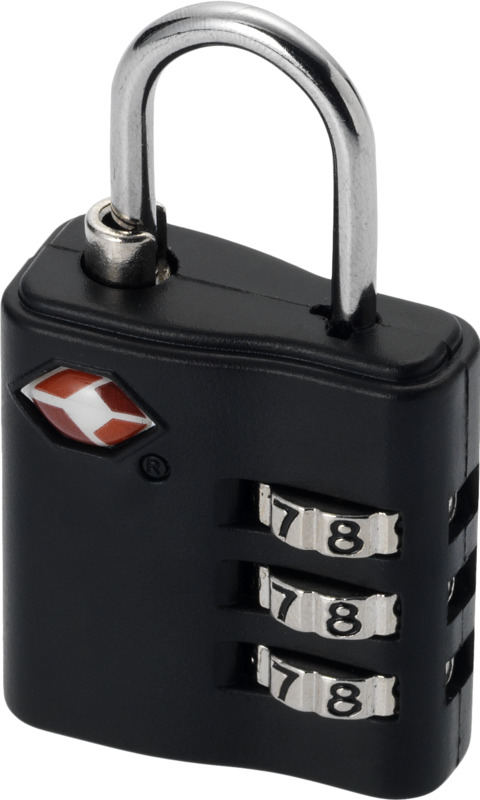 Candado equipaje TSA. Regalos promocionales y reclamos publicitarios
