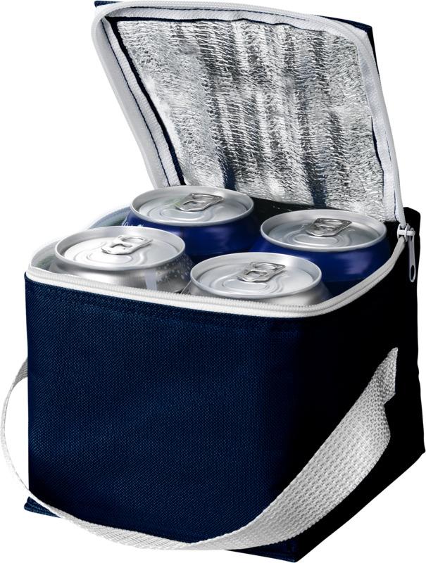 Bolsa isotérmica 4 latas . Regalos promocionales y reclamos publicitarios