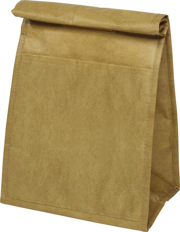 Bolsa isotérmica similar a bolsa papel . Regalos promocionales y reclamos publicitarios