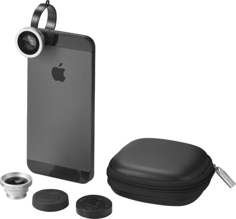 Set objetivos smartphone . Regalos promocionales y reclamos publicitarios