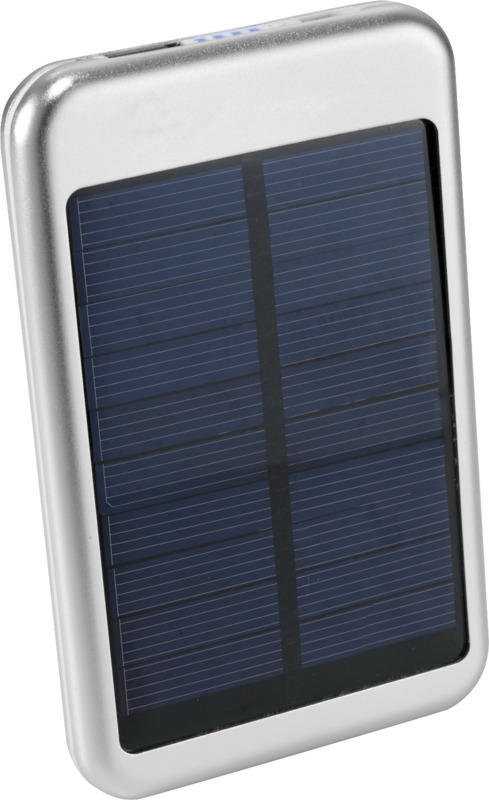 Power Bank solar 4000mAh . Regalos promocionales y reclamos publicitarios