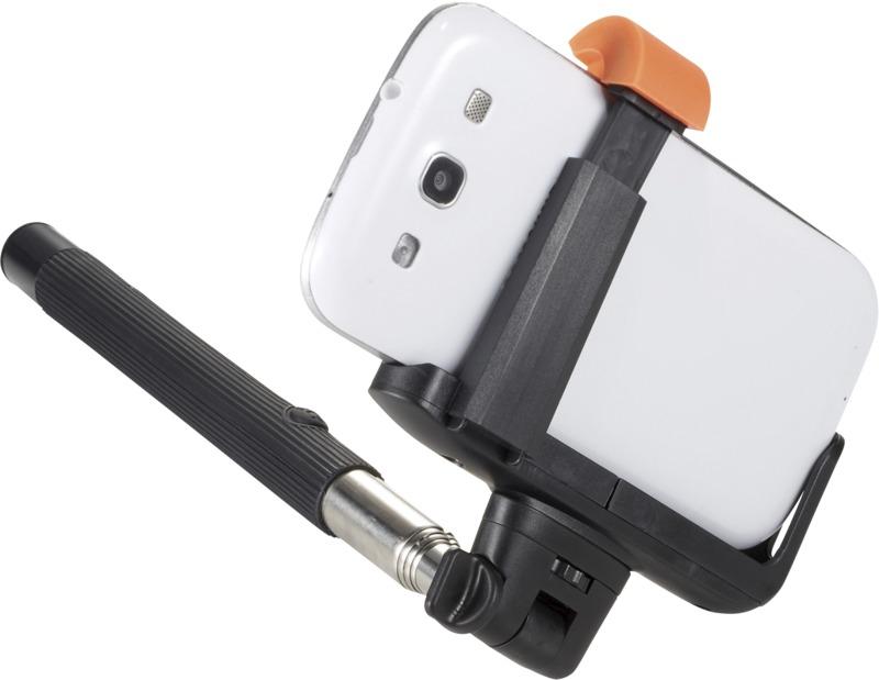 Bastón selfie extensible Bluetooth . Regalos promocionales y reclamos publicitarios