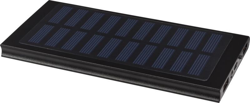 Power Bank solar 8000mAh . Regalos promocionales y reclamos publicitarios