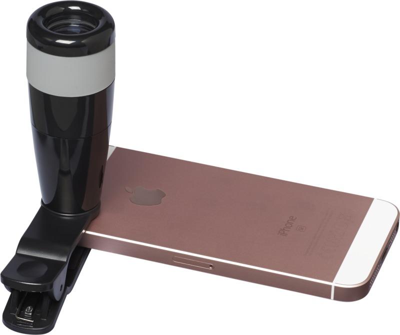 Lente telescópica 8x smartphones. Regalos promocionales y reclamos publicitarios
