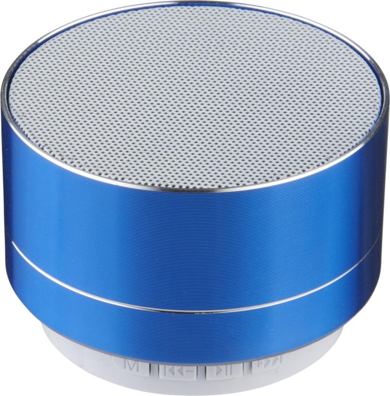 Altavoz Bluetooth impermeable el exterior. Regalos promocionales y reclamos publicitarios
