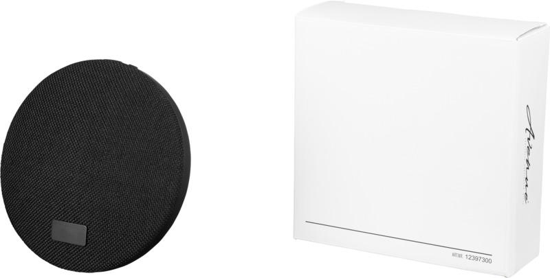 Altavoz Bluetooth/ batería externa  base carga inalámbrica. Regalos promocionales y reclamos publicitarios