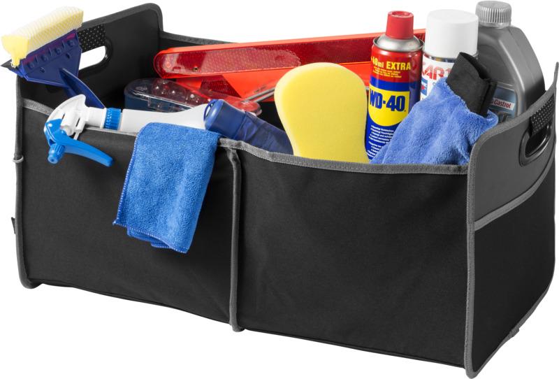 Organizador maletero . Regalos promocionales y reclamos publicitarios