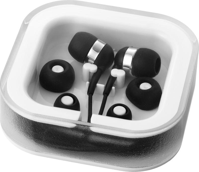 Auriculares intraurales/ micrófono . Regalos promocionales y reclamos publicitarios