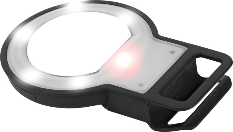 Flash LED/ espejo selfies. Regalos promocionales y reclamos publicitarios