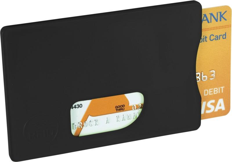 Portatarjetas tarjetas crédito . Regalos promocionales y reclamos publicitarios
