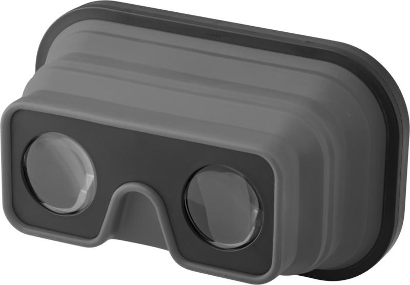 Gafas realidad virtual plegables/ silicona. Regalos promocionales y reclamos publicitarios