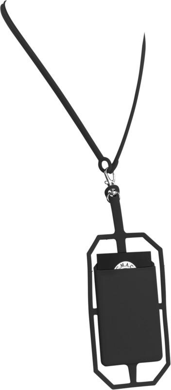 Portatarjetas RFID silicona/ lanyard. Regalos promocionales y reclamos publicitarios