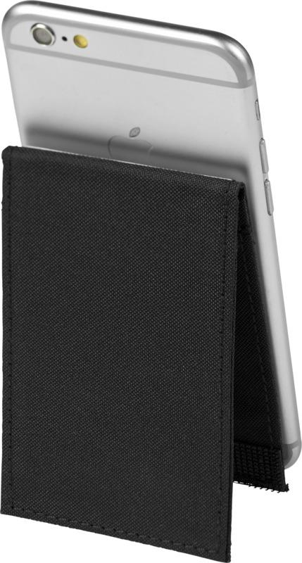 Cartera móvil premium anti RFID  soporte. Regalos promocionales y reclamos publicitarios
