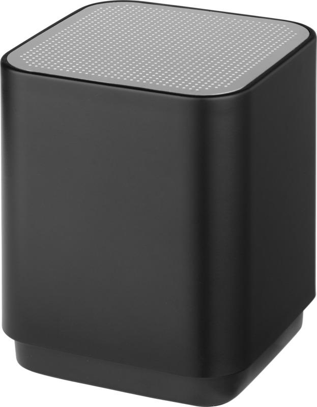 Altavoz retroiluminado Bluetooth. Regalos promocionales y reclamos publicitarios